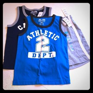 Children's Place Jersey Shorts & Tanks XS
